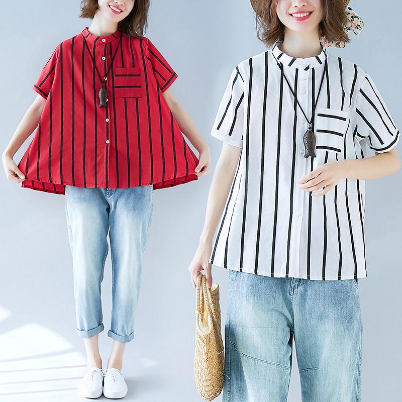 Стильная расклешенная женская рубашка 44-50