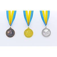 Медаль спортивная с лентой Волейбол