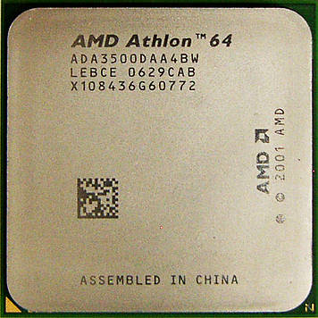 Процессор AMD Athlon 64 3500+ 2.2GHz/512K/2000 (ADA3500DAA4BW) s939, tray