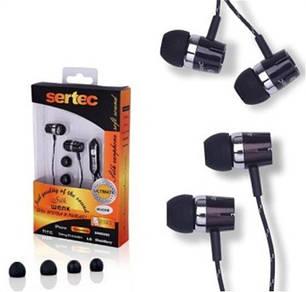 Гарнитура наушники для мобильного телефона Samsung D880, c5212, s5230, e210, s3600 sertec нейлон черная, фото 2
