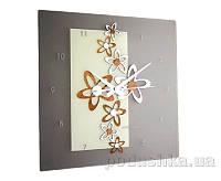 Часы настенные Incantesimo Design New Beat  декор циферблата - орех Каналетто