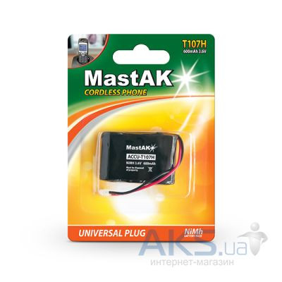 Аккумулятор для радиотелефона MastAK T107H 3.6V 600 mAh