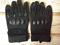 Рукавиці тактичні закриті OAKLEY Black з посиленим протектором розмір XL, фото 1