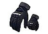 Рукавиці тактичні Полнопалые OAKLEY Black з посиленим протектором розмір XL