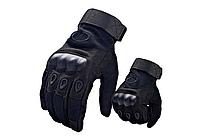 Рукавиці тактичні Полнопалые OAKLEY Black з посиленим протектором розмір XL, фото 1