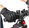 Перчатки тактические Полнопалые  OAKLEY Black с усиленным протектором размер размеры M, L, XL