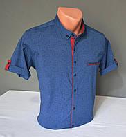 Мужская рубашка G-port с узором Размер М