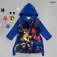 Махровый халат Transformers для мальчика. 94 см