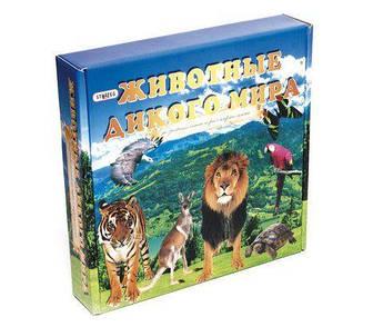 """Игра с карточками """"Животные дикого мира"""" 686"""