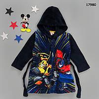 Махровый халат Transformers для мальчика.