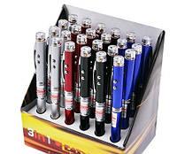 Брелок фонарик ручка с лазером 9621 (24шт/уп) 3 реж