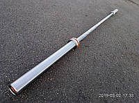 Олимпийский гриф для кроссфита до 650 кг, 8 подшипников, 28 мм