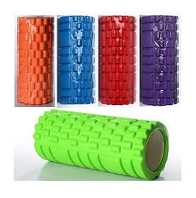 Масажер MS 0857 рулон для йоги, EVA, 5 кольорів