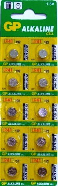 Алкалиновые Батарейки для слуховых аппаратов G3 GP