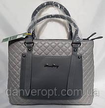 Сумка женская классическая кожзам модная размер 38х27х12 купить оптом со склада 7км Одесса