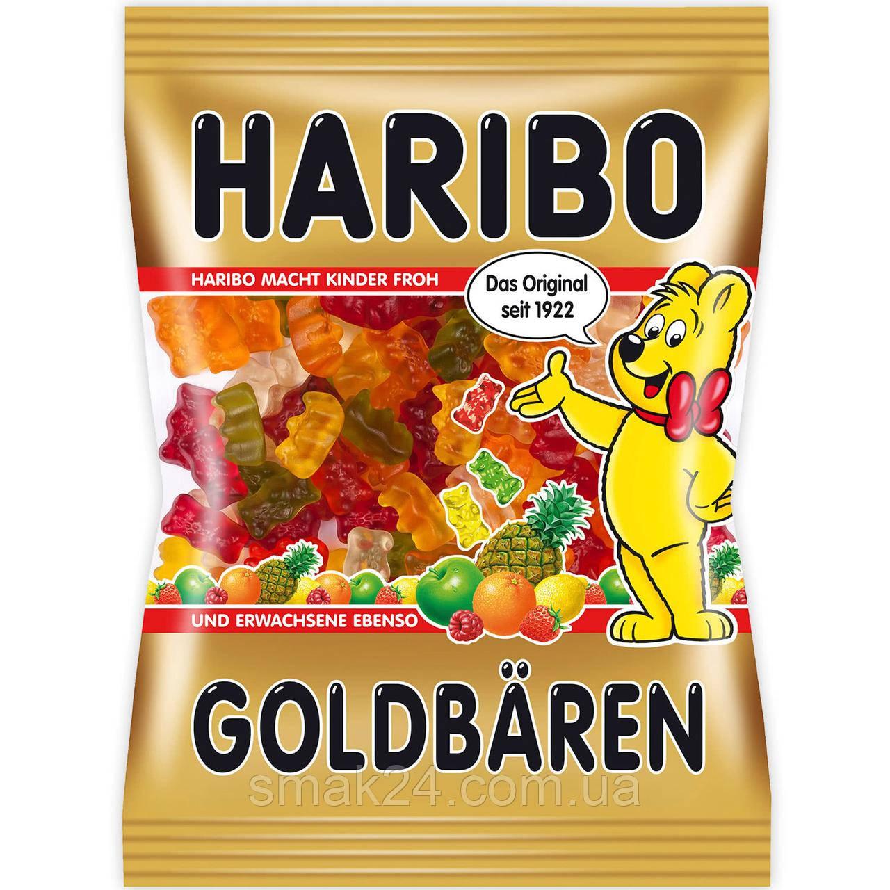 Желейные конфеты  Золотой мишка Goldbären Haribo Германия 200г