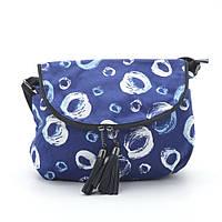 Женский клатч ⭐ 1632 №4 blue (кольца), фото 1