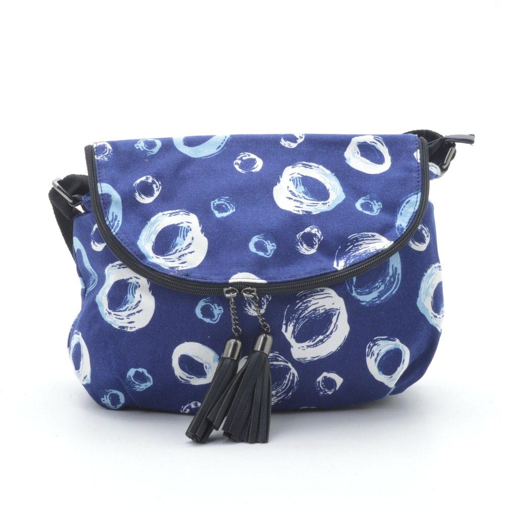 Женский клатч ⭐ 1632 №4 blue (кольца)