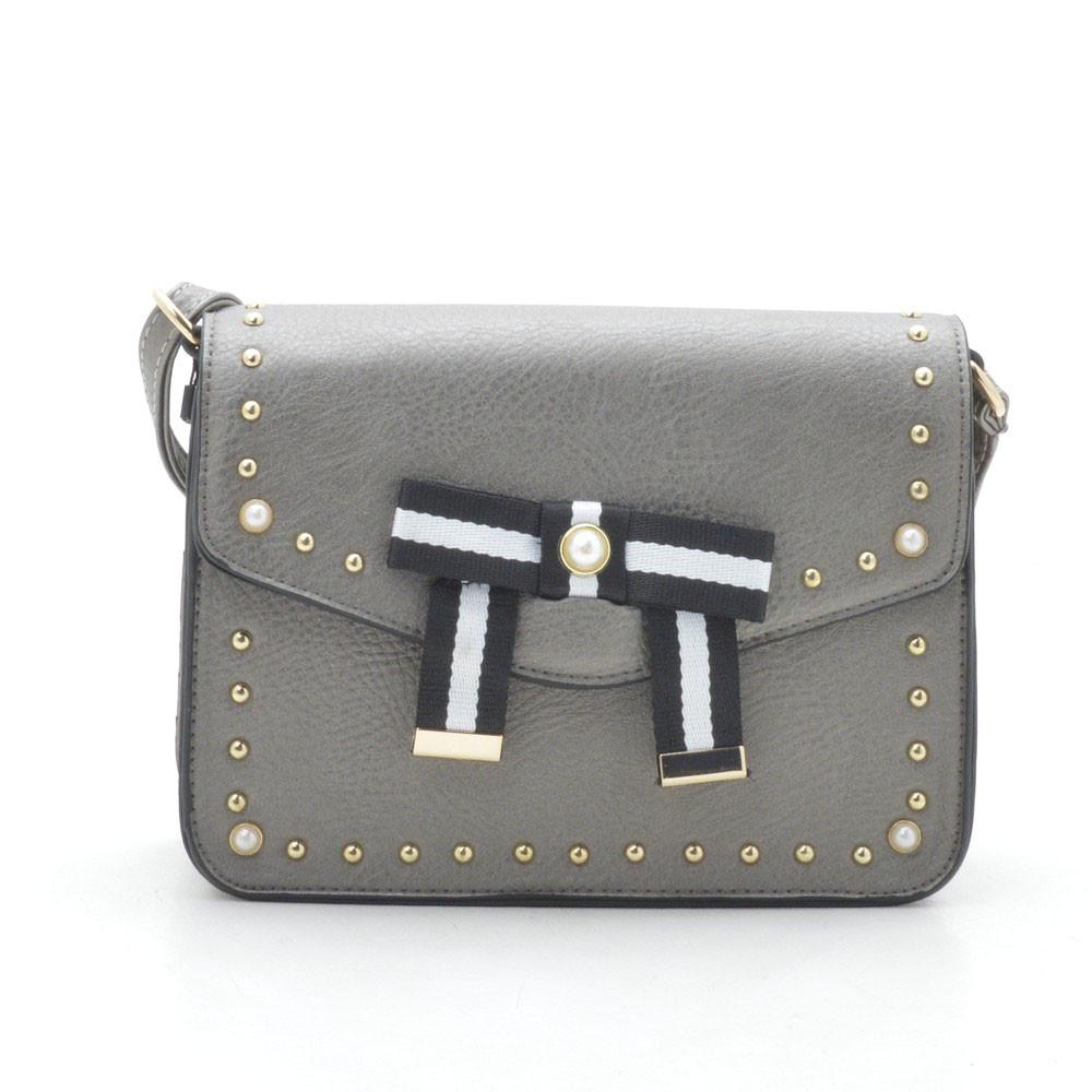 Женский клатч ⭐ A1976 grey (серый)