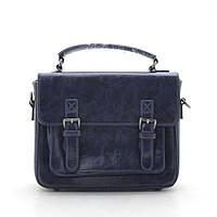 Женский клатч сумка синий глянец 146644, фото 1