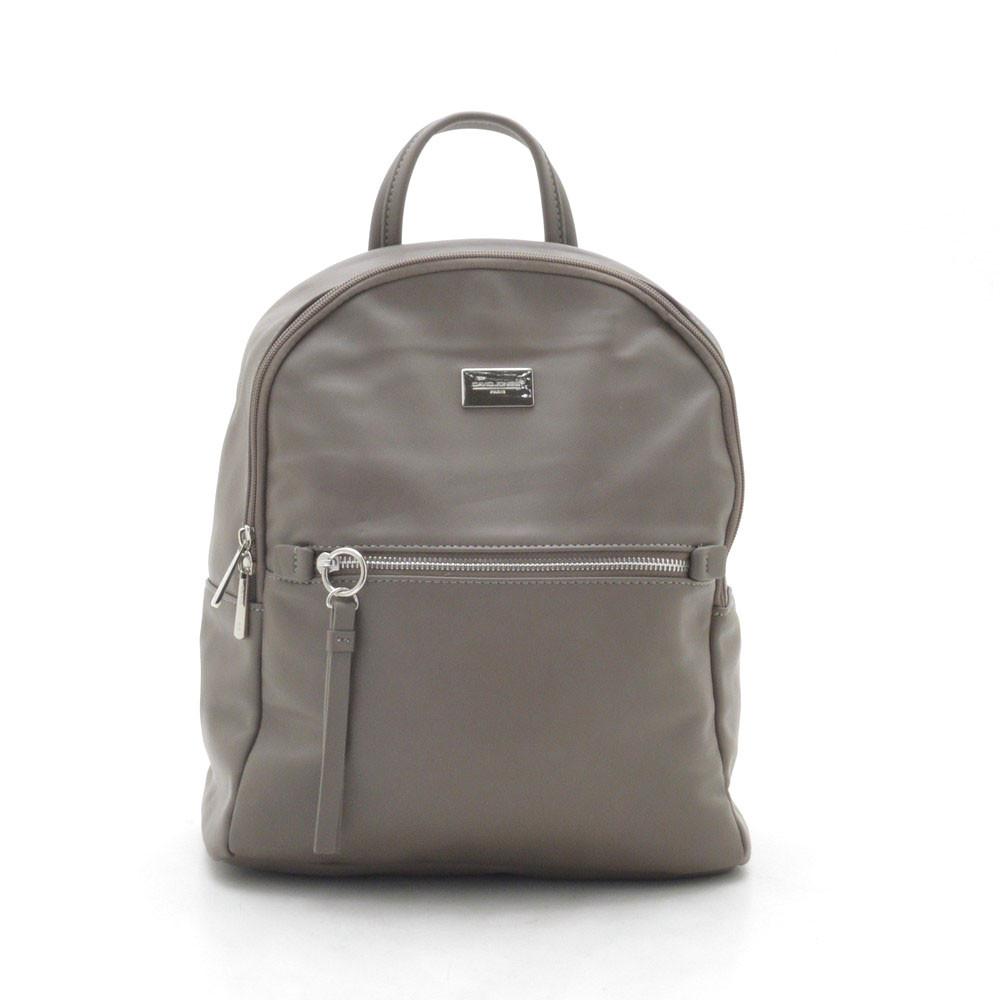 Рюкзак женский David Jones серо коричневый 152120