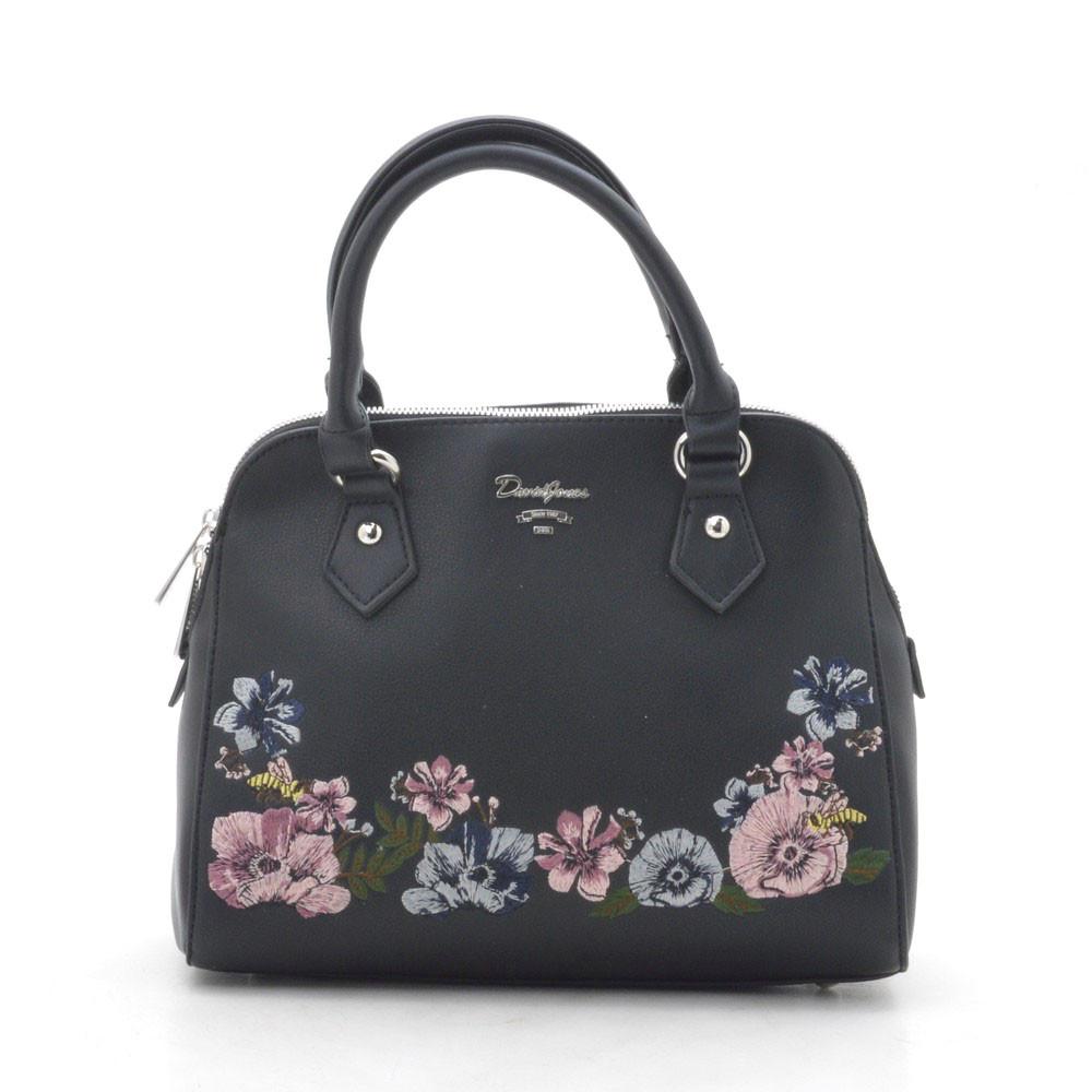 9cbbd8fc1971 Женская сумка David Jones Дэвид Джонс 5862-2 black (черный) - в ...