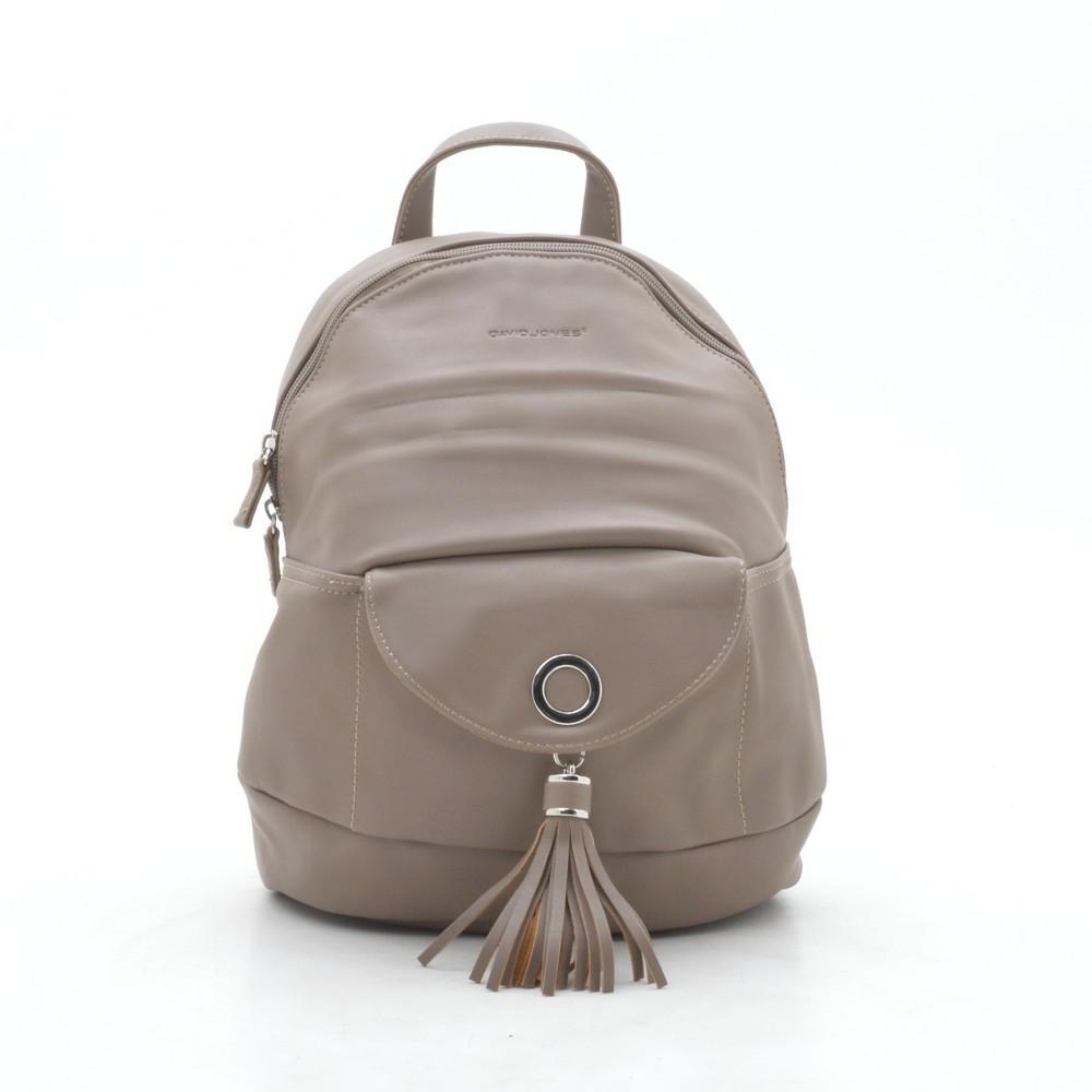 Рюкзак женский David Jones коричневый 163924