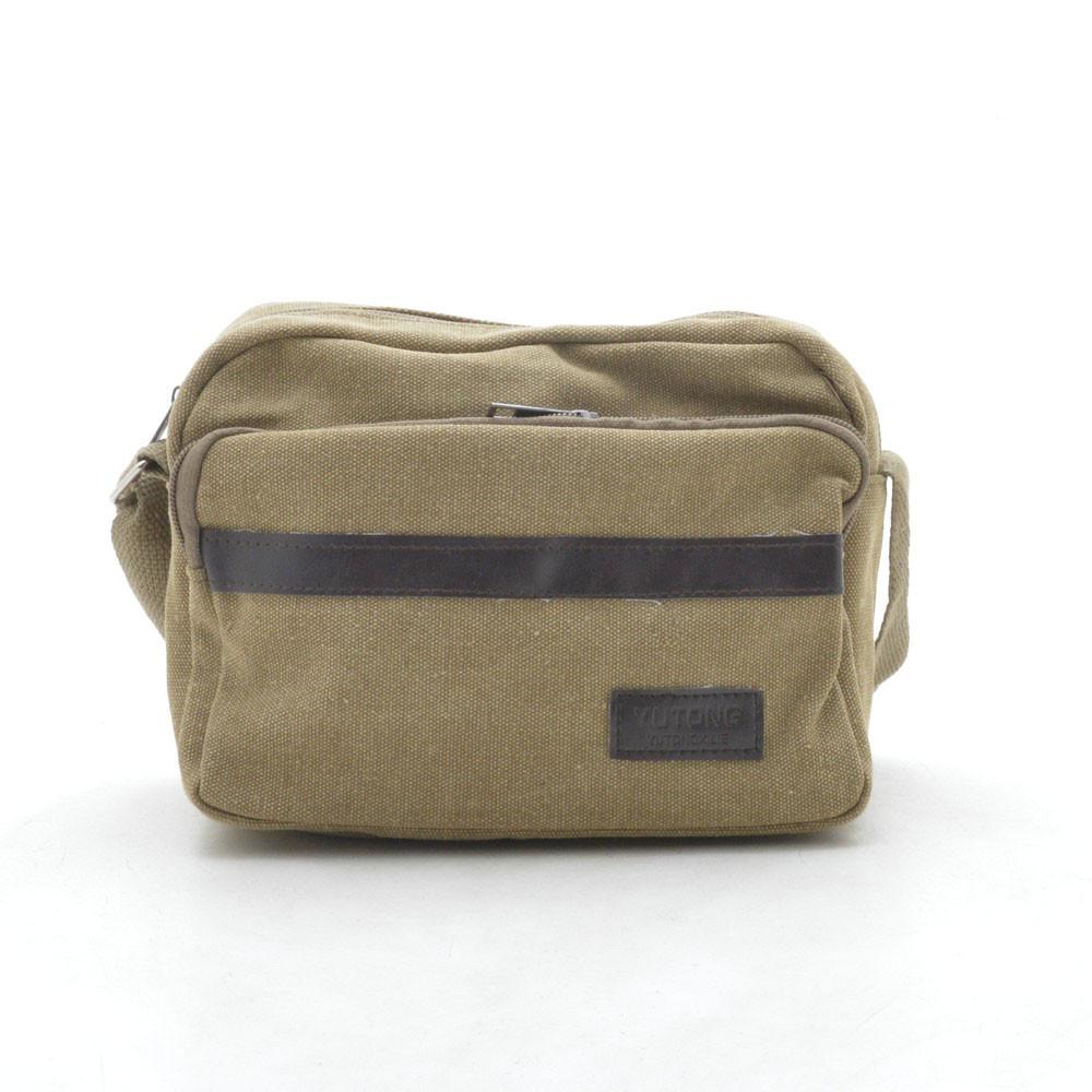 Мужская сумка через плечо коричневая 164067