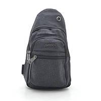 Мужская сумка 3321 черная, фото 1
