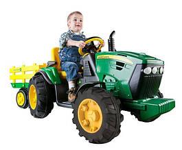 Электромобиль трактор Peg Perego John Deere