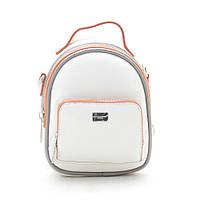 Клатч-рюкзак mini David Jones CM3790 white, фото 1