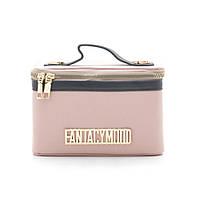 Женский клатч ⭐ F-684 розовый, фото 1