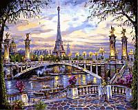 Раскраска по номерам DIY Babylon Воспоминания о Париже худ Финале, Роберт (VP397) 40 х 50 см