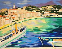 Раскраска по номерам Гавань Марке Альбера (RS-N000132) 45х35 см