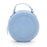 Женский клатч David Jones круглый светло синий 172543, фото 1