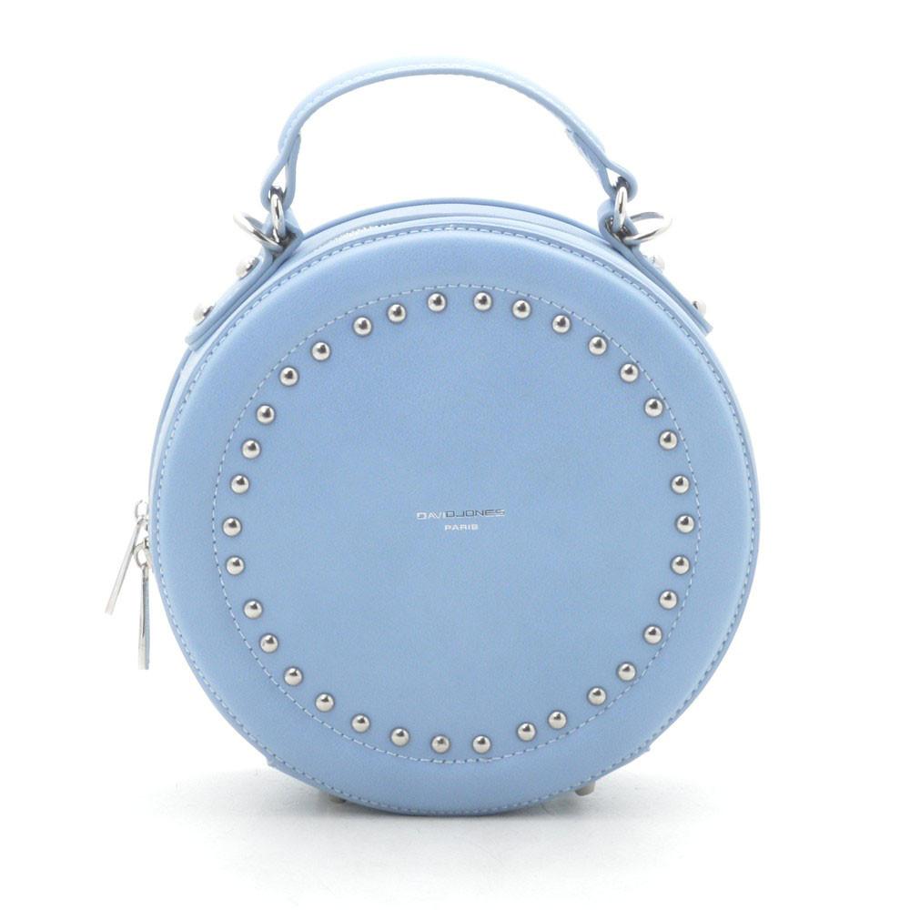 Жіночий клатч David Jones круглий світло синій 172543