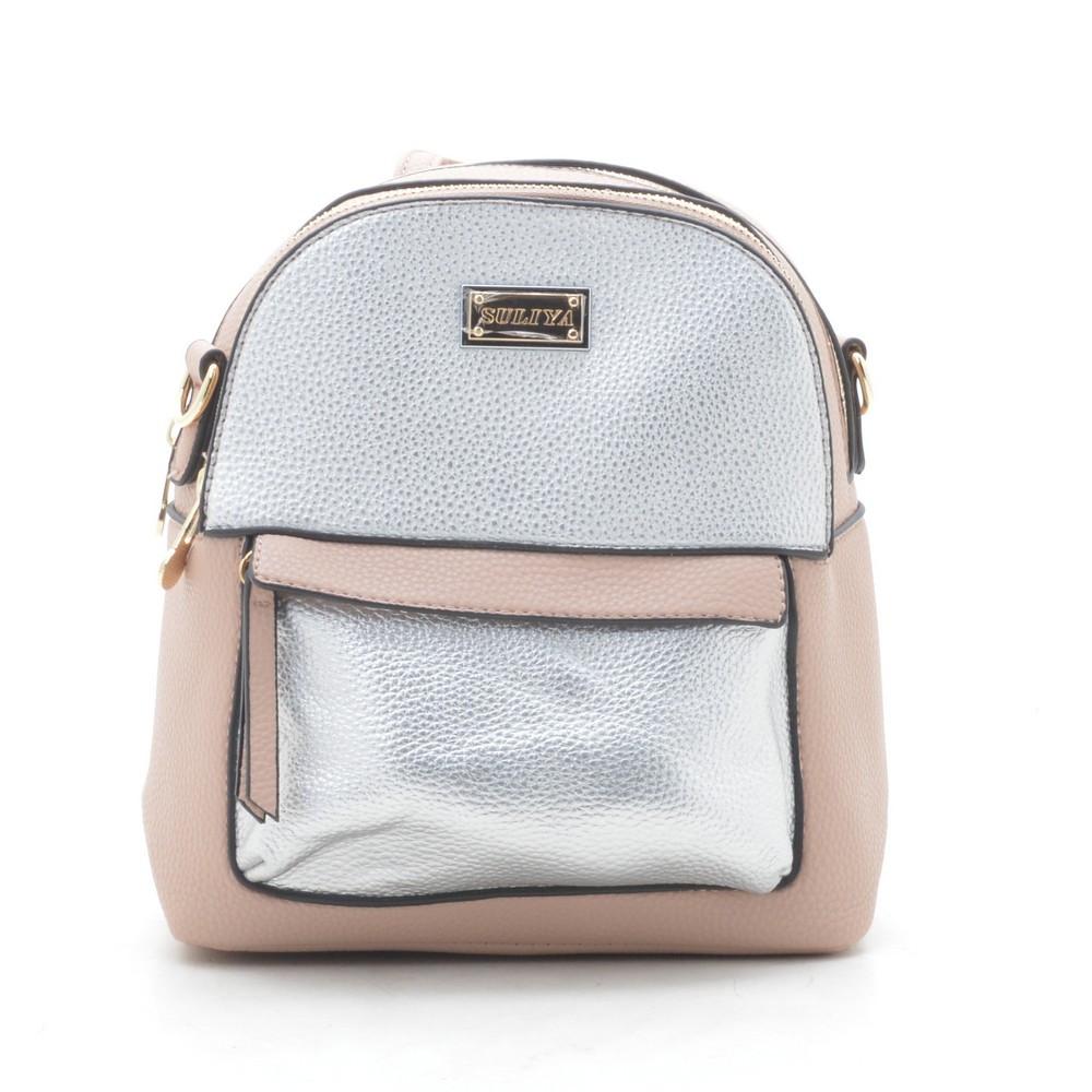 Рюкзак женский розовый 175290