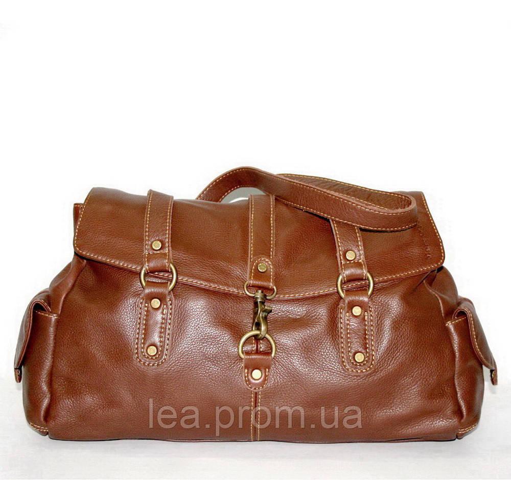 09550e6717fd Женская сумка из высококачественной натуральной кожи Marc O'Polo oryginal  рыжая (Германия) 390151