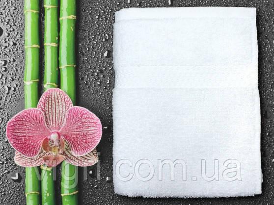 Полотенце махровое Азербайджан, 40х70 см., белое.