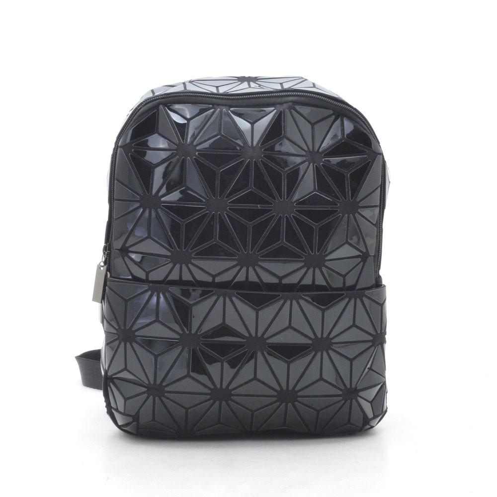 Рюкзак ⭐ 1306-6 черный(лак)