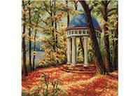 Повітруля Набор для вышивки крестом Осенний парк Осінній парк П5007