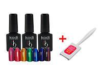 3 гель лака Kodi «Moon light» + магнит в подарок!