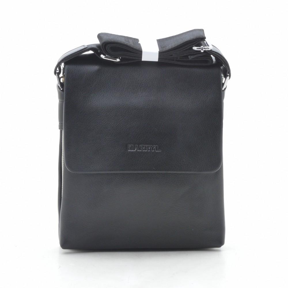 Мужская сумка 6802-2 черная