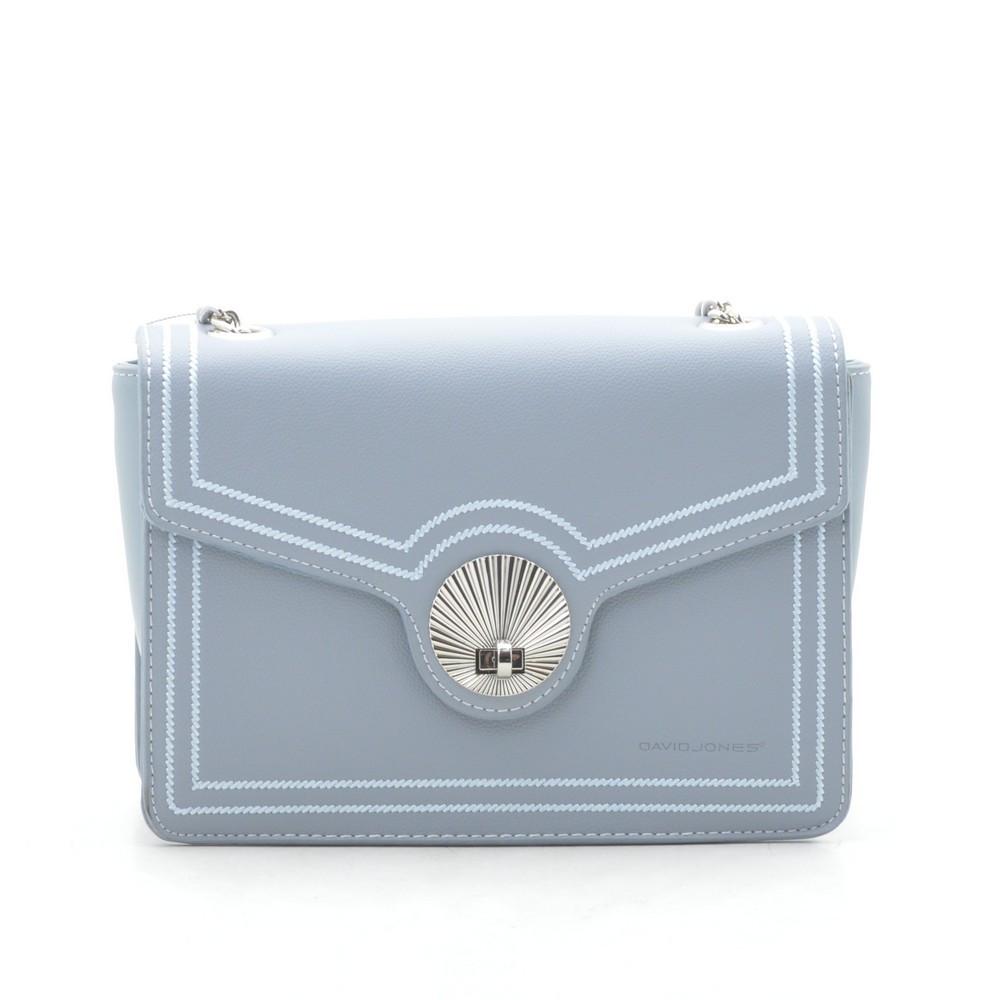 Женский клатч David Jones светло голубой 176666