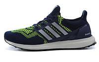 Кроссовки мужские Adidas Ultra Boost blue-green