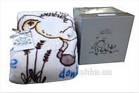 Плед детский Karaca Donkey's world кремовый 100х120 см