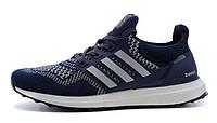 Кроссовки мужские Adidas Ultra Boost темно-синие, фото 1