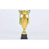 Кубок спортивный с крышкой и чашей CUP (h-57см)