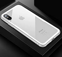 Чехол для Apple iPhone XS MAX Glass White