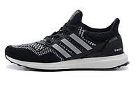Кроссовки мужские Adidas Ultra Boost черные, фото 1